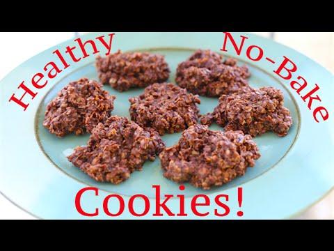 Video Healthy No-Bake Cookies!