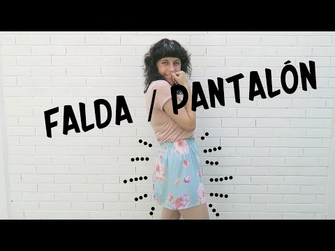 FALDA/PANTALON - TUTORIAL SHORTS