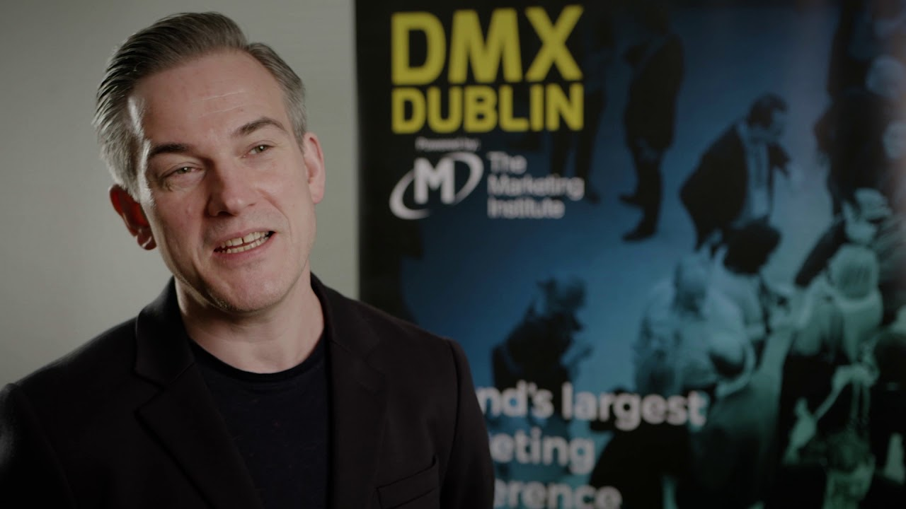 Martin Weigel, Wieden + Kennedy, Interview @ DMX Dublin 2018