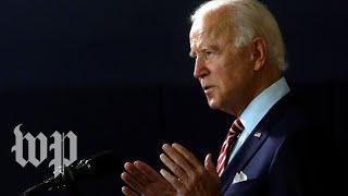 WATCH: Biden speaks on developing, 'equitably distributing' coronavirus vaccine