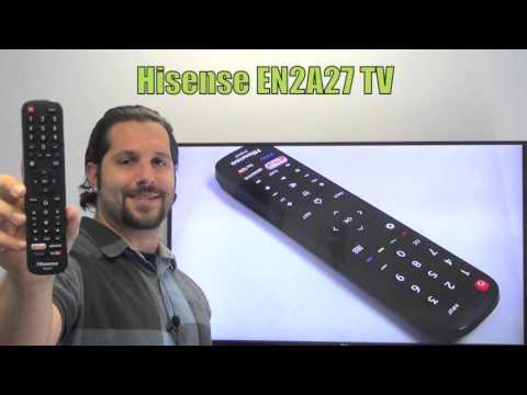HISENSE EN2A27 TV Remote Control