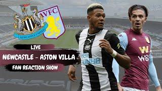 Newcastle United - Aston Villa | Live fan reaction show