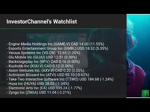 InvestorChannel's Esports Watchlist Update for Thursday, F ... Thumbnail