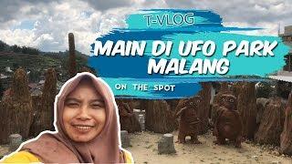 VLOG| Bermain di UFO Park Malang, Bisa Foto Sama Alien