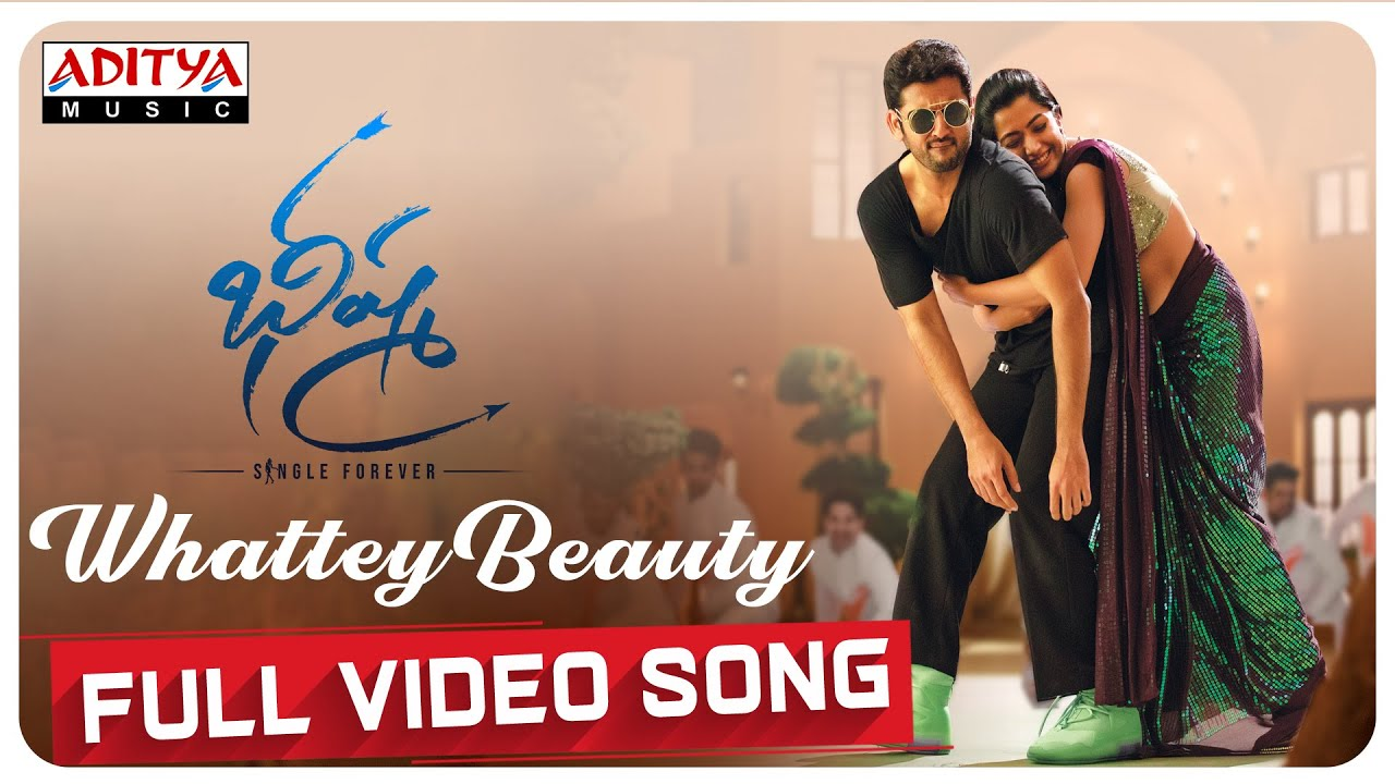 Whattey Beauty Full Video Song  From Bheeshma