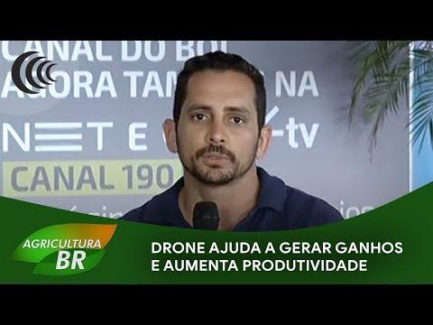 Drone ajuda a gerar ganhos e aumenta produtividade