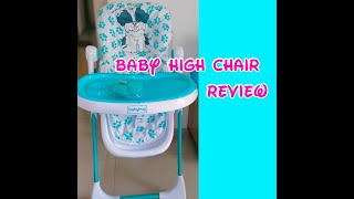 Baby high chair review - babyhug| baby led weaning |Prachi Parekh #highchair