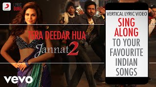 Tera Deedar Hua - Jannat 2|Official Bollywood Lyrics|Anupam