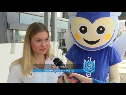 A magyar paraúszó válogatott üzenete a FINA Budapest2017 Vizes Világbajnokság magyar sportolóinak!