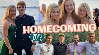 High School Homecoming Dance *getting ready, pictures & dates*