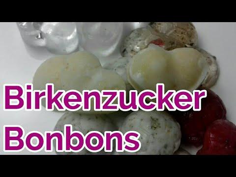 Bonbons/ Zuckerl selber machen aus Birkenzucker/ Hustenlutscher und Naschbonbons
