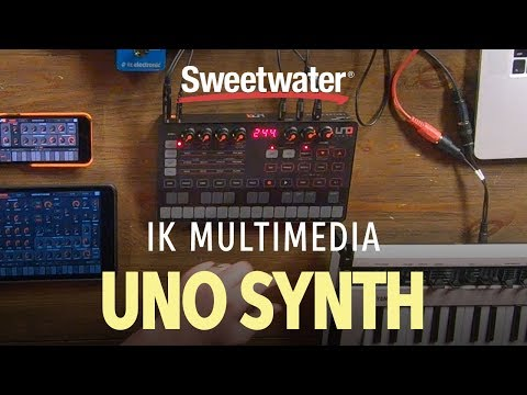 IK Multimedia Uno Synth Analog Synthesizer | Sweetwater
