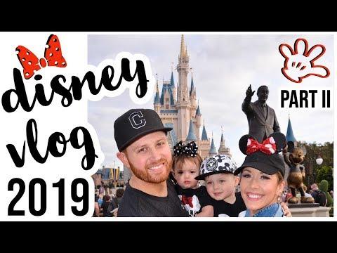 2019 WALT DISNEY WORLD FLORIDA VACATION VLOG PART II | MAGIC KINGDOM, ANIMAL KINGDOM, + EPCOT!