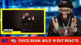 Chico Bean Reacts To His 2012 Audition | Wild 'N Out Reacts | MTV