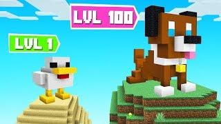 BUILD The BEST ANIMAL Challenge! (Minecraft)