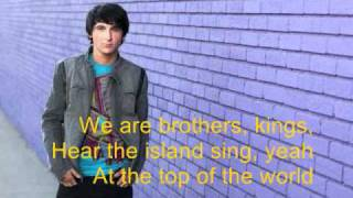 Два короля, Top of the world - Pair of kings lyrics