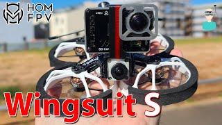 HOMFPV Wingsuit S CineWhoop - Overview & Flight Footage