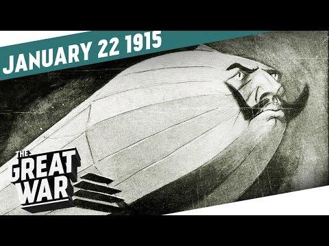 Zepelíny nad Anglií - Velká válka
