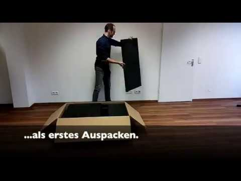 Outsunny® Aufbau Poly-Rattan Loungeset 2-Sitzer (Aosom.de)
