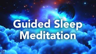 Geführte Schlafmeditation, beruhigte Meditation + Affirmationen & Schlafhypnosemusik