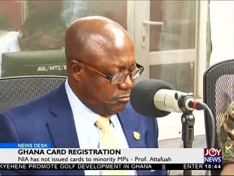 Ghana Card Registration - News Desk on Joy News (18-6-18)