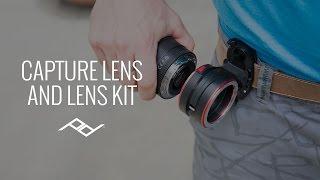 CaptureLENS And Lens Kit By Peak Design