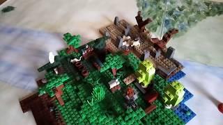 лего Forest #4. План-капкан и чудо машина.