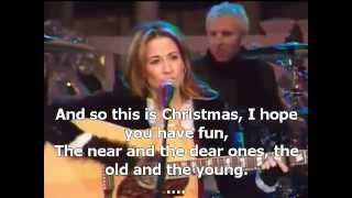 Sheryl Crow - Happy Christmas (War is Over)