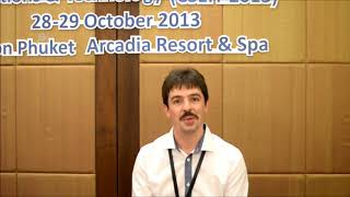 Mr. Friedrich Wernher at CSEIT Conference 2013 by GSTF
