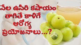 Gooseberries l Amla Juice Health Benefits