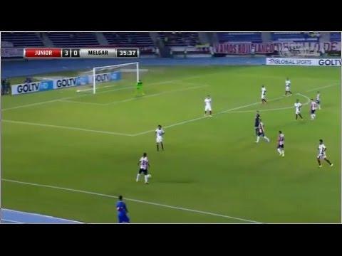 Junior 5 - 0 Melgar Copa Sudamericana 2015