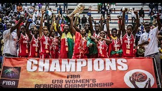 LIVE 🔴 - Mozambique v Mali - Final - FIBA U18 Women's African Championship 2018