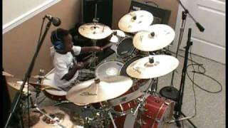 Wynonna - Burning Love, 5 Year Old Drummer, Jonah Rocks