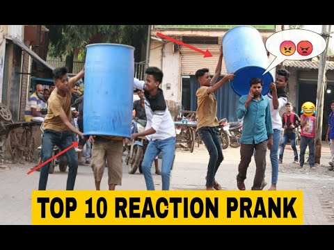 Download TOP 10 REACTION PRANK VIDEOS || PRANK IN INDIA || OYE FUNTOOS HD Mp4 3GP Video and MP3