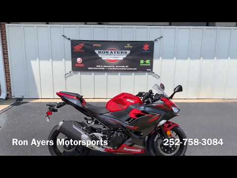 2019 Kawasaki Ninja 400 ABS in Greenville, North Carolina - Video 1