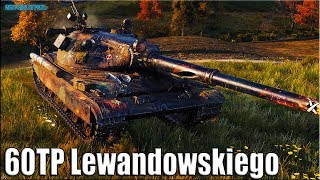 РУССКИЙ на ЕВРО СЕРВЕРЕ 🌟 60TP Lewandowskiego World of Tanks