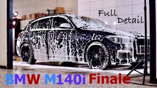 BMW M140i Finale Full Detail - P1 Wash & Decontamination!