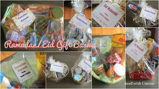Ramadan Basket For Neighbors رمضان باسکٹس | Hostess Baskets | Eid Basket Ideas By MorEwish