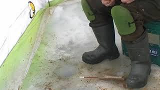 Зимняя рыбалка в чивыркуйском заливе на монахова