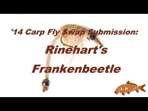 Rinehart's Frankenbeetle Carp Fly Underwater Video