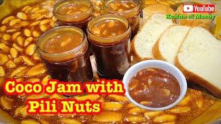 Coco Jam with Pili Nuts | Masarap sa Mainit na Pandesal | Matamis na Bao | Bikol Delicacy