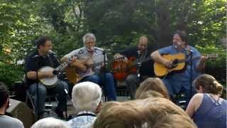 """Shady Grove"" ~ Kruger Brothers with Charles Welch @ Jones House Boone NC (Doc Watson Day)"