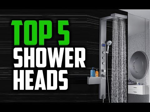 Best Shower Heads in 2018 - Which Is The Best Shower Head?