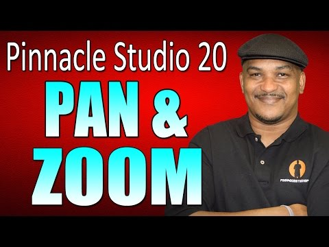 Pinnacle Studio 20 Ultimate | Pan and Zoom Tutorial