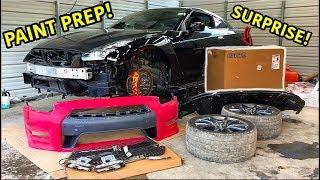 Rebuilding A Wrecked 2013 Nissan GTR Part 4
