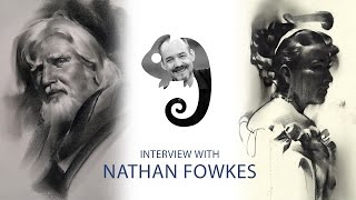 Portraits In Charcoal With Nathan Fowkes