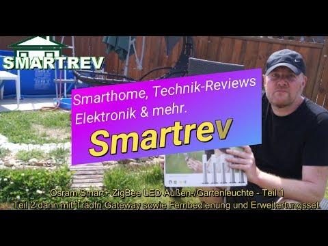 Außen-/Gartenleuchte Osram Smart+ ZigBee LED  / Gardenpole