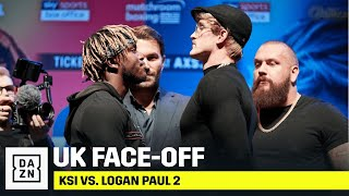 KSI vs. Logan Paul Face-Off At UK Press Conference