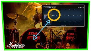How to EQ Kick Drum Like a Pro (3 Quick Steps)   musicianonamission.com - Mix School #39