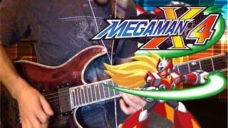 Zero Opening Stage Theme Guitar Cover [Mega Man X4]